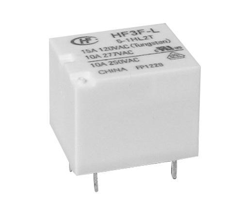 宏发HF3F-L-6-1ZL1T-R继电器