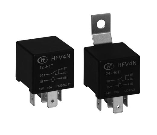 宏发HFV4N/12-H1T-R继电器
