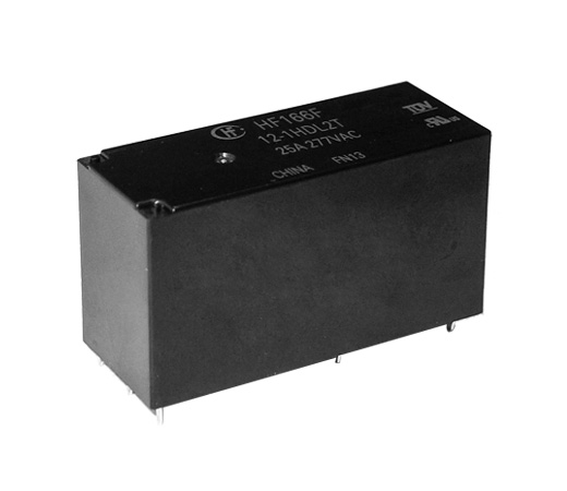 宏发HF166F/12-1HDL1T继电器