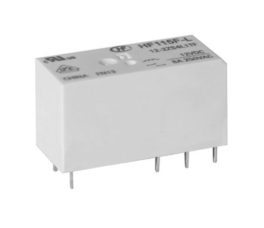 宏发HF115F-L/12-2HS4L1TF继电器