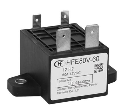 宏发HFE80V-60/150-24-HT2继电器