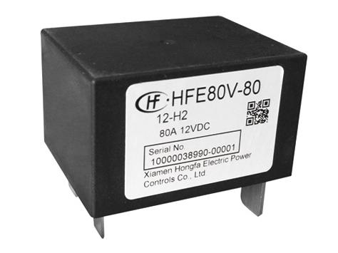 宏发HFE80V-80/150-12-HT2B继电器