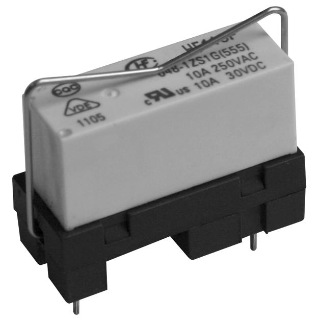 宏发118F-1ZA1-1继电器插座